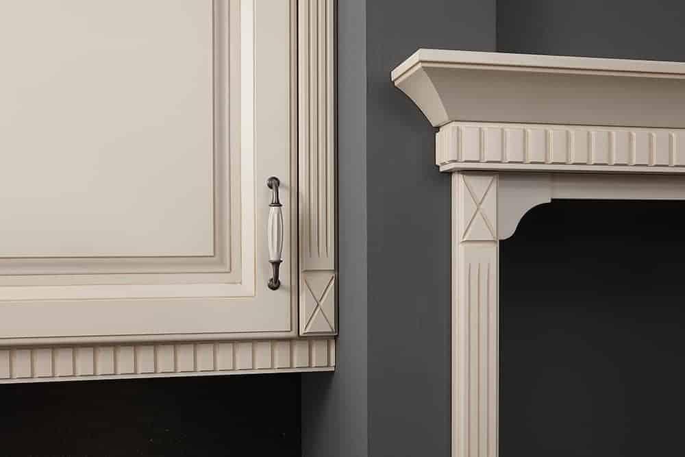 rustic kitchens ornamental detail