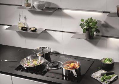 kookplaat met afzuiging