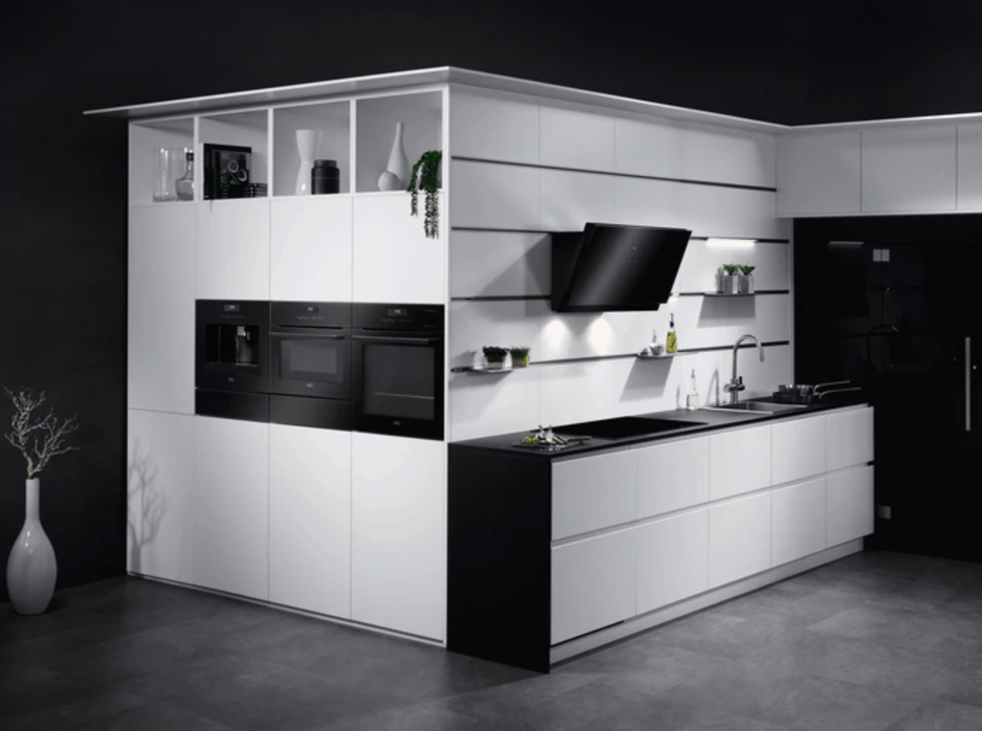 moderne keuken voorbeeld