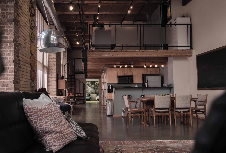 loft kitchens