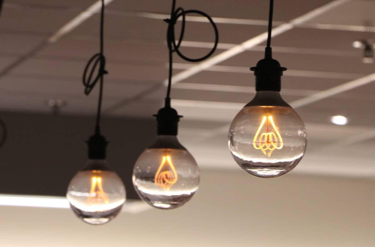 lampen industriële keuken