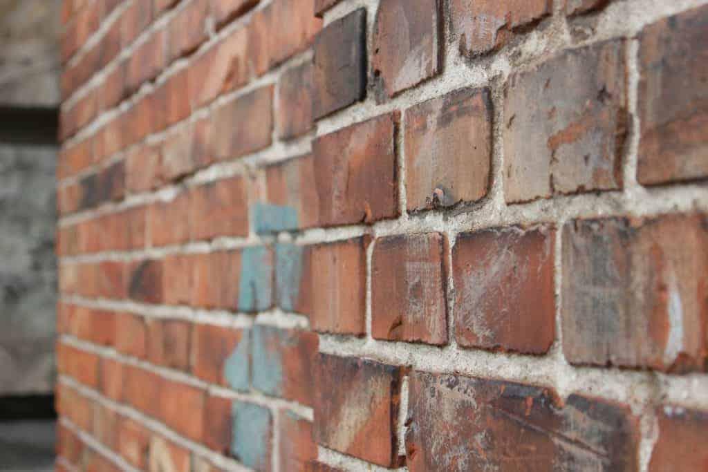 brick wall industrial kitchen