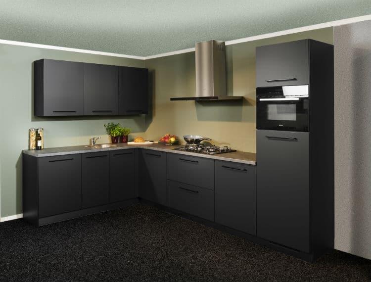 moderne keuken uit voorraad