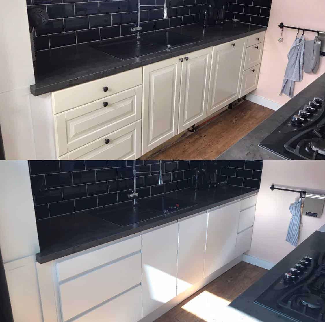 voorbeeld Keukenrenovatie