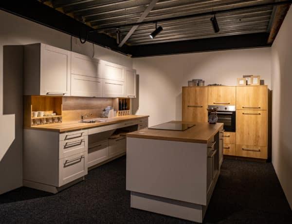 Hoog-laag keuken