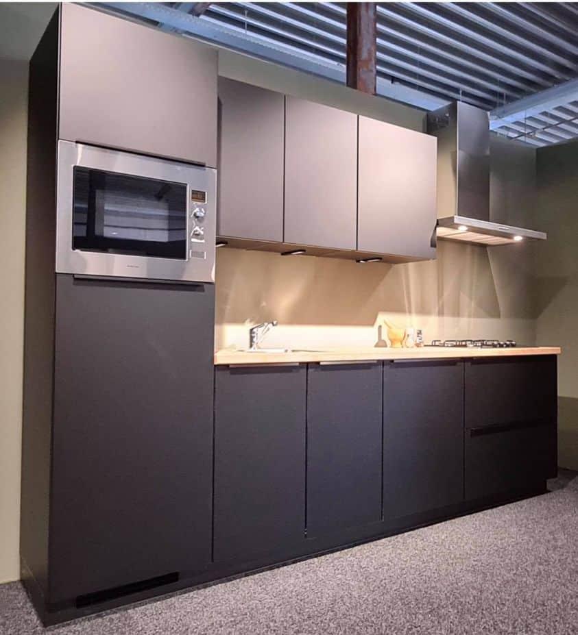 black friday mat zwarte keuken deal