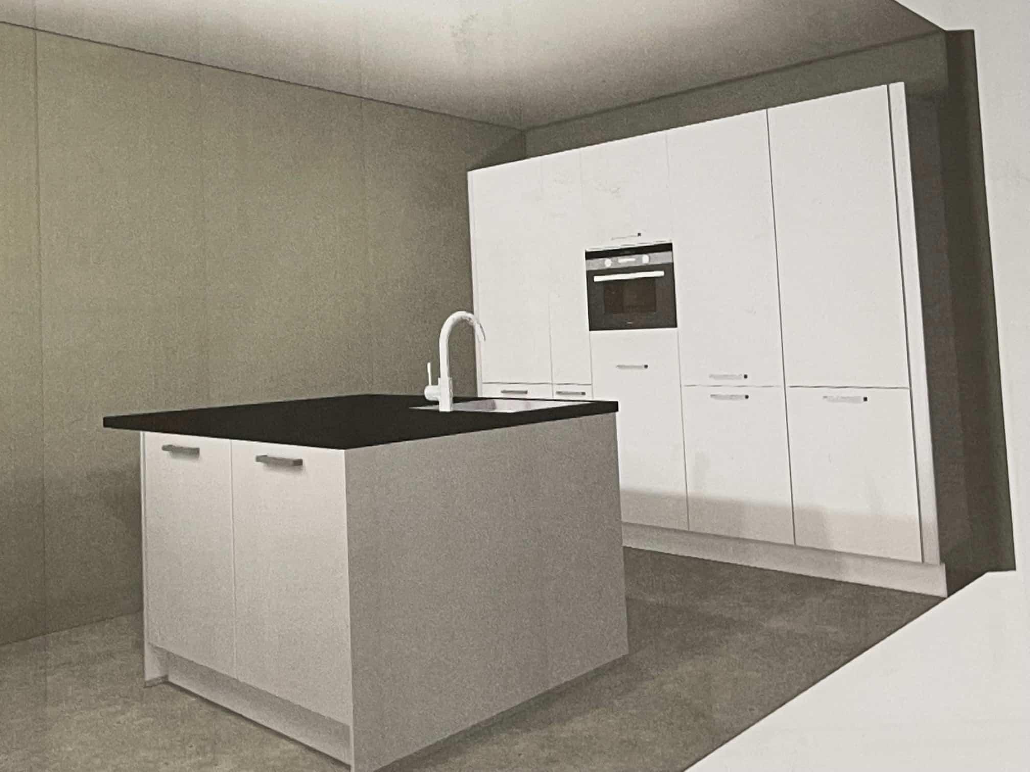 Keuken uitverkoop magazijn